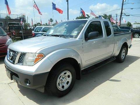 2005 Nissan Frontier for sale at Texas Motor Sport in Houston TX