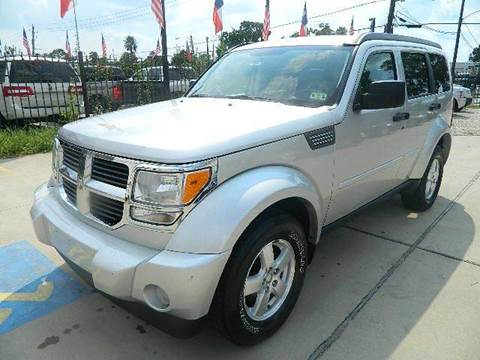 2008 Dodge Nitro for sale at Texas Motor Sport in Houston TX