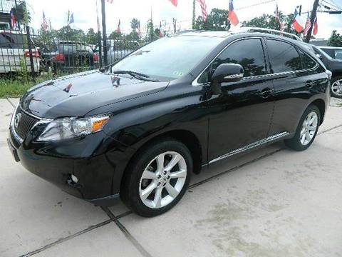 2010 Lexus RX 350 for sale at Texas Motor Sport in Houston TX