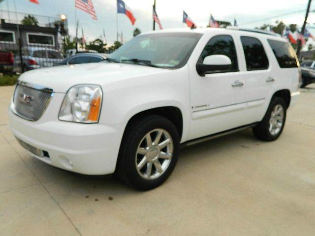 2008 GMC Yukon for sale at Texas Motor Sport in Houston TX