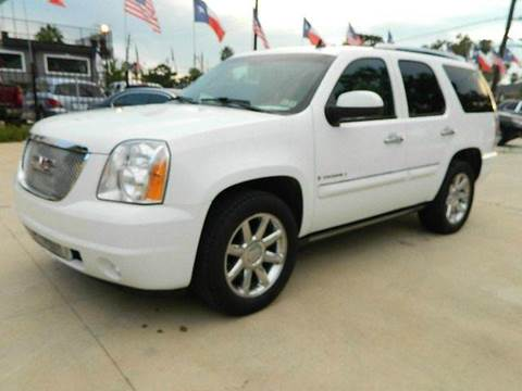 2008 GMC Yukon for sale at Texas Motor Sport in Houston TX