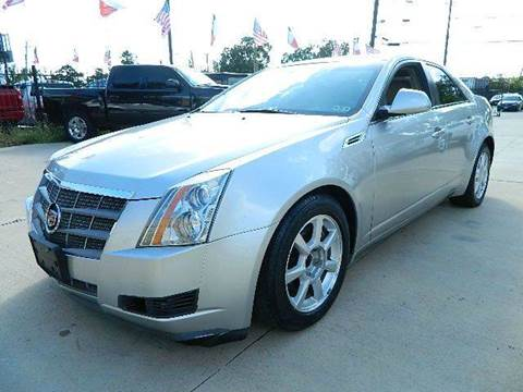 2008 Cadillac CTS for sale at Texas Motor Sport in Houston TX