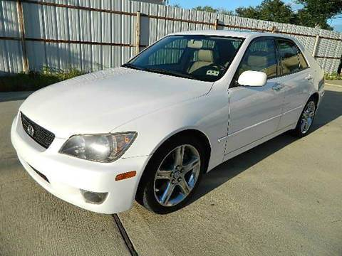 2005 Lexus IS 300 for sale at Texas Motor Sport in Houston TX