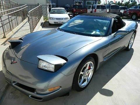 2004 Chevrolet Corvette for sale at Texas Motor Sport in Houston TX