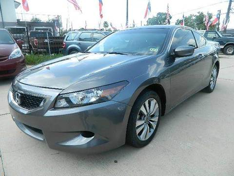 2009 Honda Accord for sale at Texas Motor Sport in Houston TX