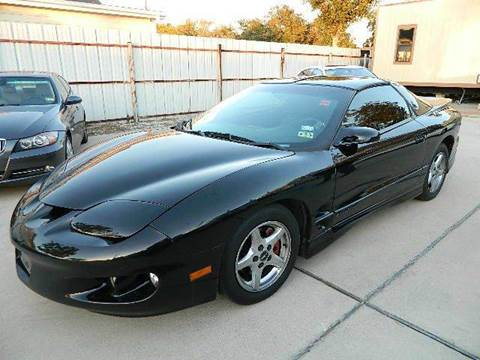 2001 Pontiac Firebird for sale at Texas Motor Sport in Houston TX