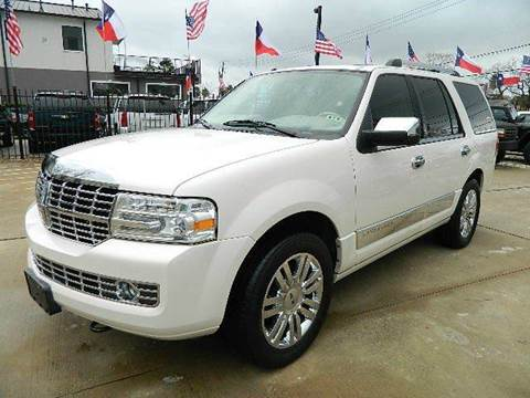 2007 Lincoln Navigator for sale at Texas Motor Sport in Houston TX