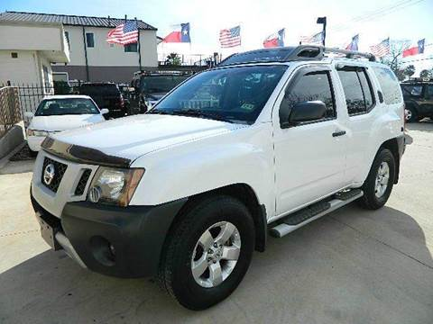 2009 Nissan Xterra for sale at Texas Motor Sport in Houston TX