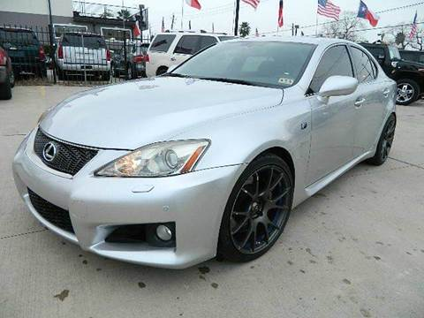 2008 Lexus IS F for sale at Texas Motor Sport in Houston TX