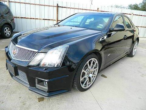 2011 Cadillac CTS-V for sale at Texas Motor Sport in Houston TX