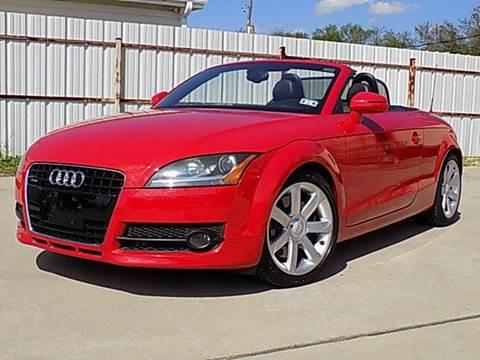 2008 Audi TT for sale at Texas Motor Sport in Houston TX