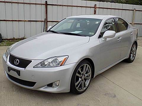 2008 Lexus IS 250 for sale at Texas Motor Sport in Houston TX