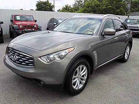 2011 Infiniti FX35 for sale at Texas Motor Sport in Houston TX