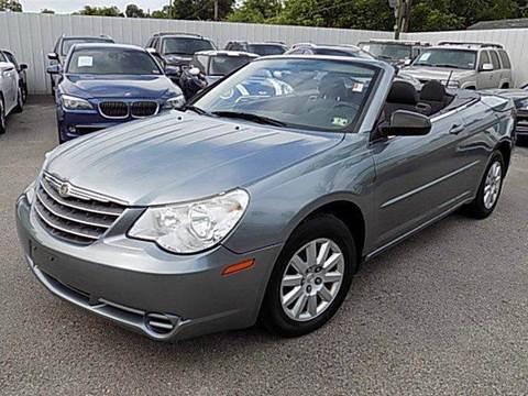 2009 Chrysler Sebring for sale at Texas Motor Sport in Houston TX