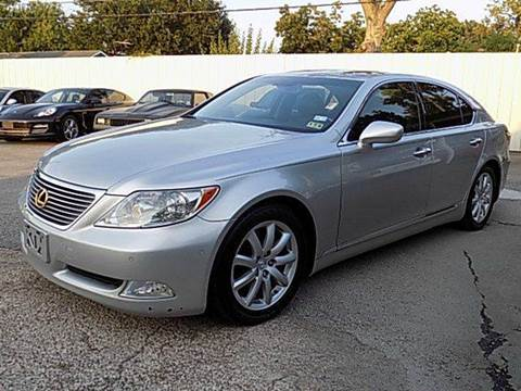 2008 Lexus LS 460 for sale at Texas Motor Sport in Houston TX