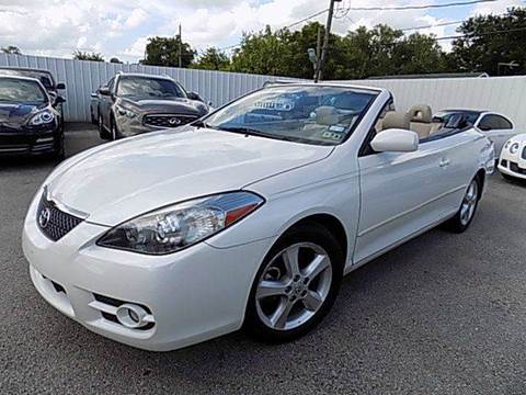 2008 Toyota Camry Solara for sale at Texas Motor Sport in Houston TX