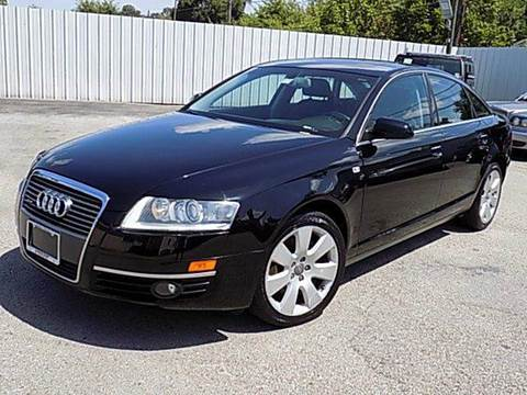 2007 Audi A6 for sale at Texas Motor Sport in Houston TX