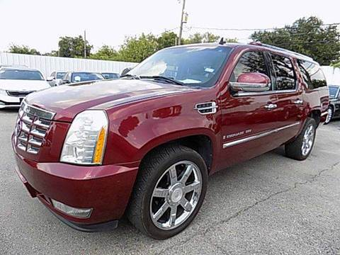 2008 Cadillac Escalade ESV for sale at Texas Motor Sport in Houston TX