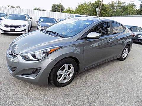 2014 Hyundai Elantra for sale at Texas Motor Sport in Houston TX