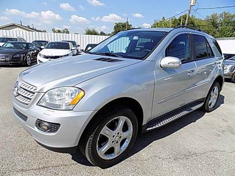 2008 Mercedes-Benz M-Class for sale at Texas Motor Sport in Houston TX