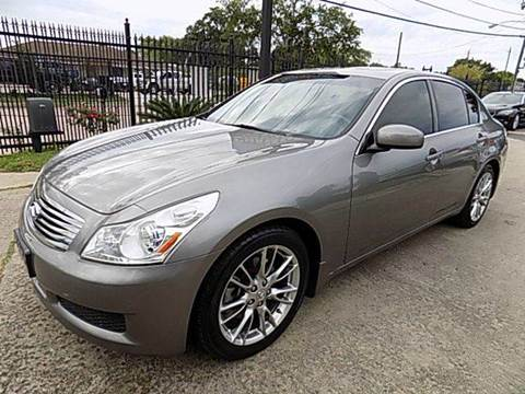 2008 Infiniti G35 for sale at Texas Motor Sport in Houston TX