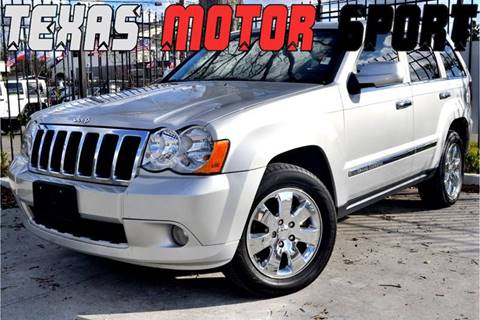 2010 Jeep Grand Cherokee for sale at Texas Motor Sport in Houston TX