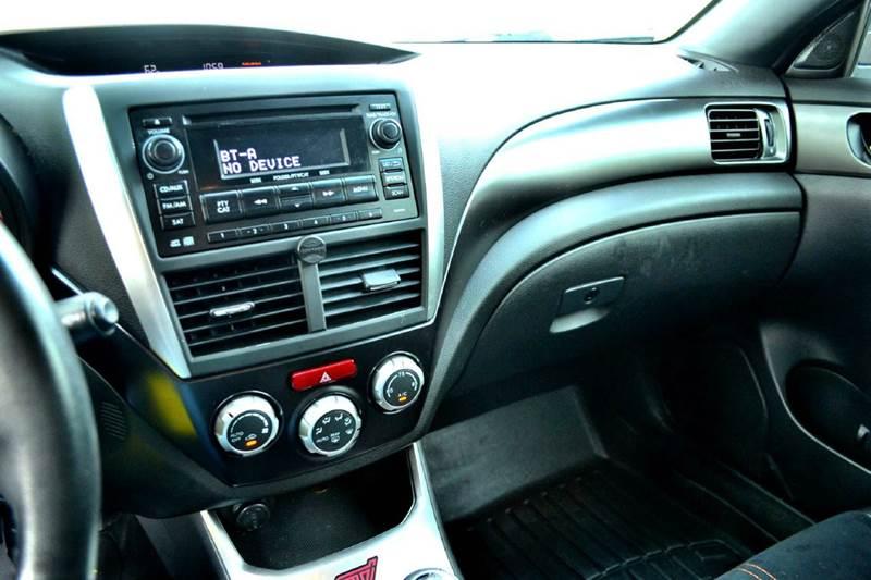 2013 Subaru Impreza Wrx Sti Orange And Black Limited Edition In