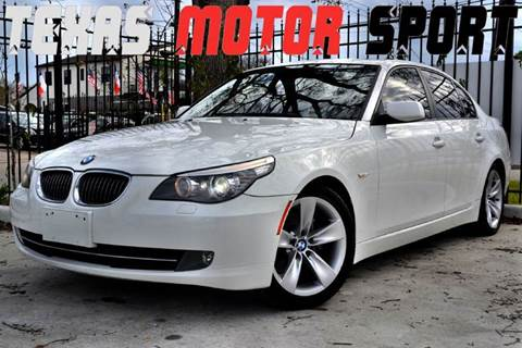 2009 BMW 5 Series for sale at Texas Motor Sport in Houston TX