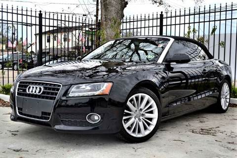 2010 Audi A5 for sale at Texas Motor Sport in Houston TX