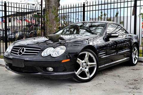 2005 Mercedes-Benz SL-Class for sale at Texas Motor Sport in Houston TX