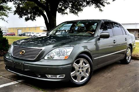 2004 Lexus LS 430 for sale at Texas Motor Sport in Houston TX