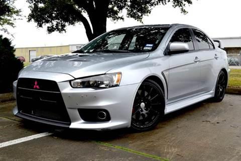 2014 Mitsubishi Lancer Evolution for sale at Texas Motor Sport in Houston TX