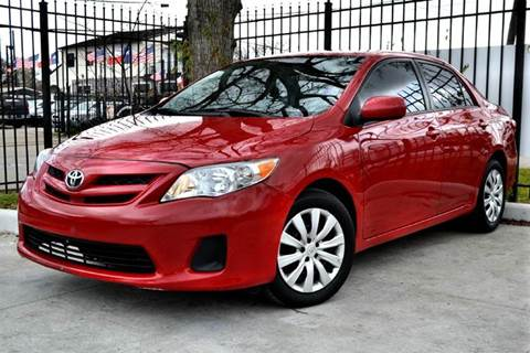 2012 Toyota Corolla for sale at Texas Motor Sport in Houston TX