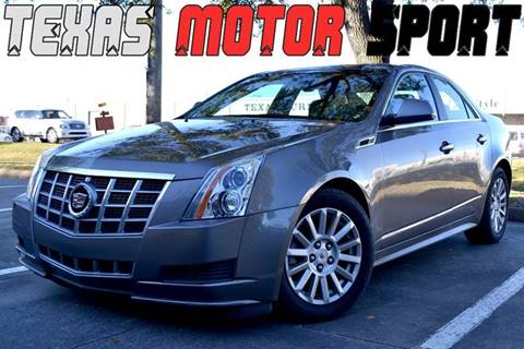 2012 Cadillac CTS for sale at Texas Motor Sport in Houston TX