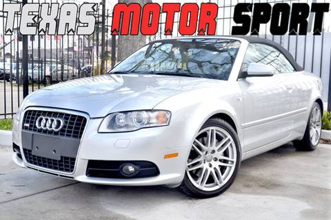 2009 Audi A4 for sale at Texas Motor Sport in Houston TX