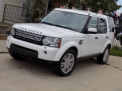 2012 Land Rover LR4 for sale at Texas Motor Sport in Houston TX