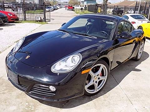 2012 Porsche Cayman for sale at Texas Motor Sport in Houston TX