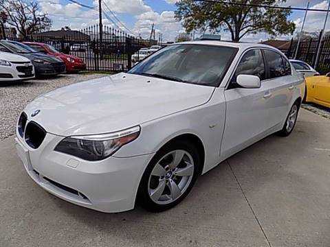 2006 BMW 5 Series for sale at Texas Motor Sport in Houston TX
