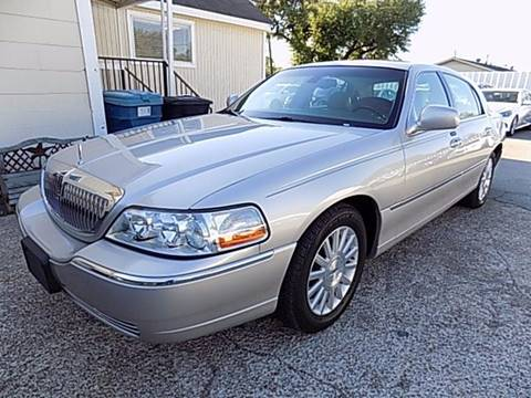 2003 Lincoln Town Car for sale at Texas Motor Sport in Houston TX