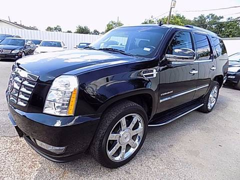 2010 Cadillac Escalade for sale at Texas Motor Sport in Houston TX