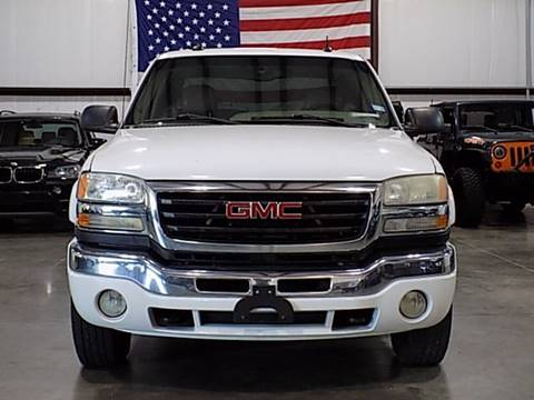 2003 GMC Sierra 2500HD for sale in Houston, TX