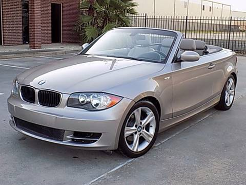 2008 BMW 1 Series for sale at Texas Motor Sport in Houston TX