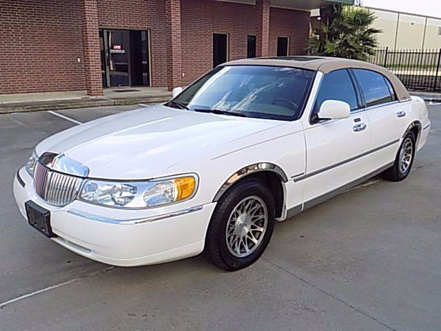 2001 Lincoln Town Car for sale at Texas Motor Sport in Houston TX