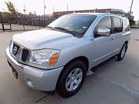 2004 Nissan Armada for sale at Texas Motor Sport in Houston TX