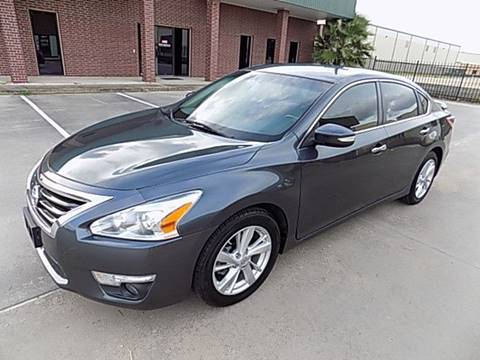 2013 Nissan Altima for sale at Texas Motor Sport in Houston TX