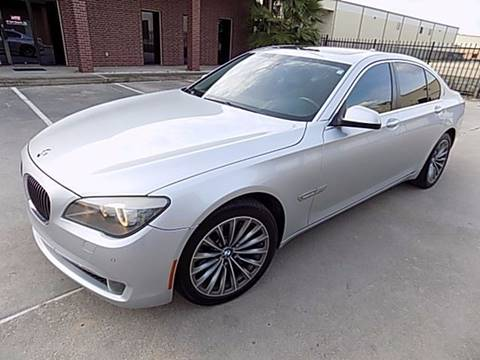 2011 BMW 7 Series for sale at Texas Motor Sport in Houston TX