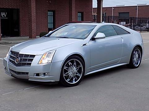 2011 Cadillac CTS for sale at Texas Motor Sport in Houston TX