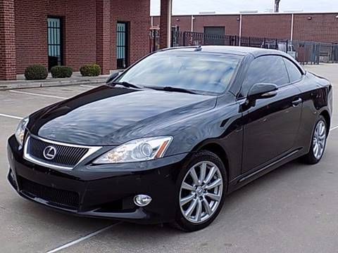 2010 Lexus IS 250C for sale at Texas Motor Sport in Houston TX