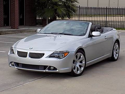 2005 BMW 6 Series for sale at Texas Motor Sport in Houston TX
