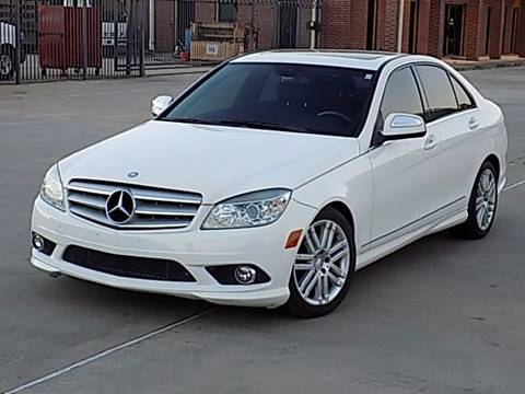 2009 Mercedes-Benz C-Class for sale at Texas Motor Sport in Houston TX